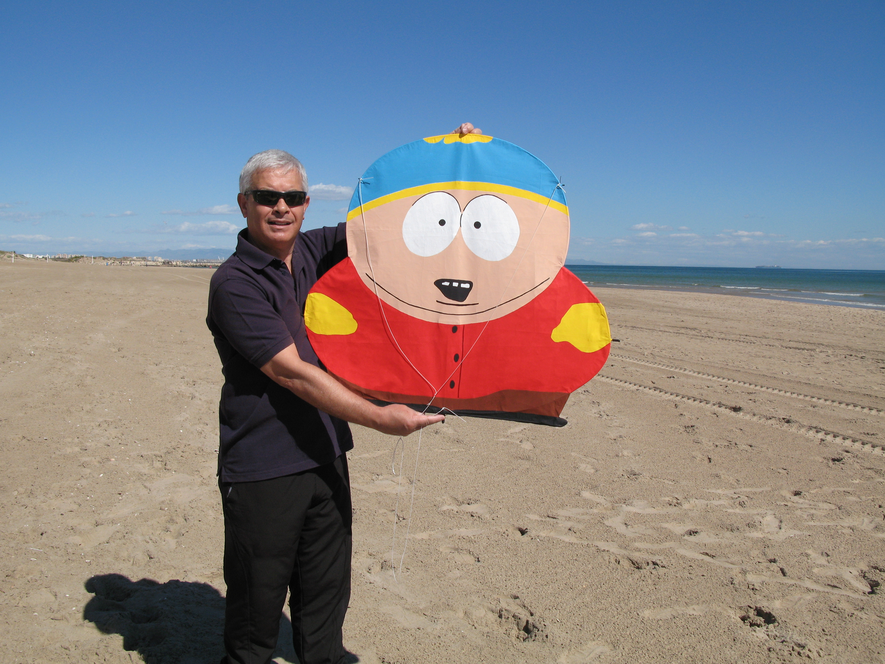 Cometa Cartman. Diseñada y construida por Juan Antonio Muñoz López