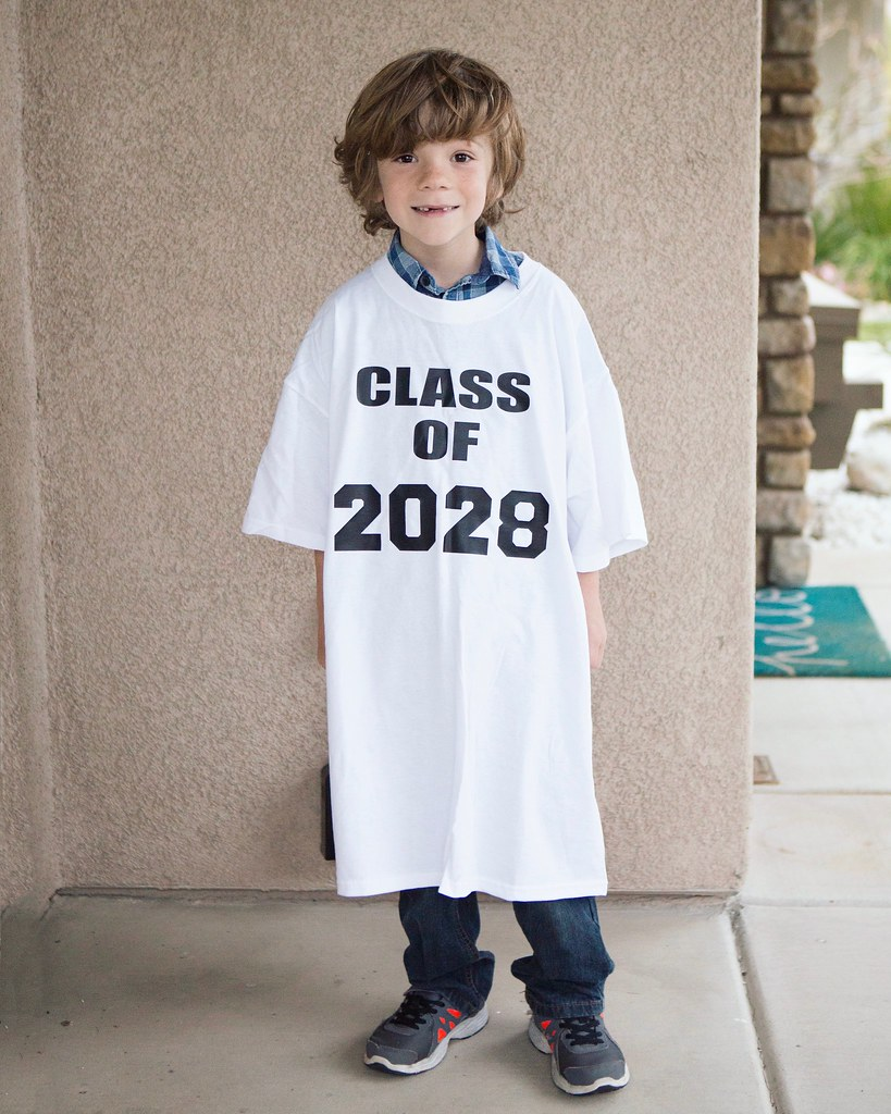 first day of school picture idea