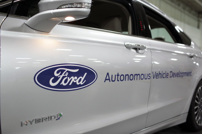 Ford Autonomous Vehicles