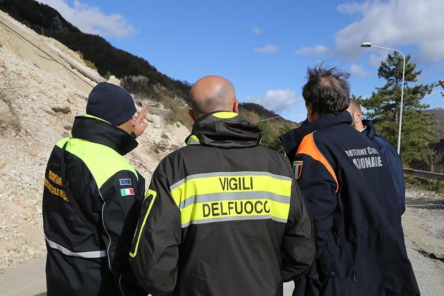 Terremoto centro Italia: verifica delle criticità
