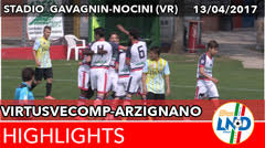 Virtus V.-Arzignano del13-04-17