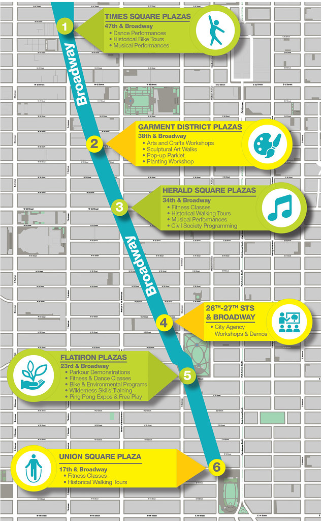 Car Free NYC: Earth Day 2017 Map | New York City Department of ...