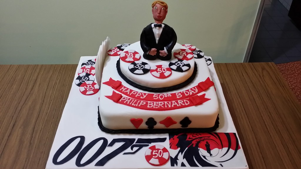 Ben  Themed Birthday Cake