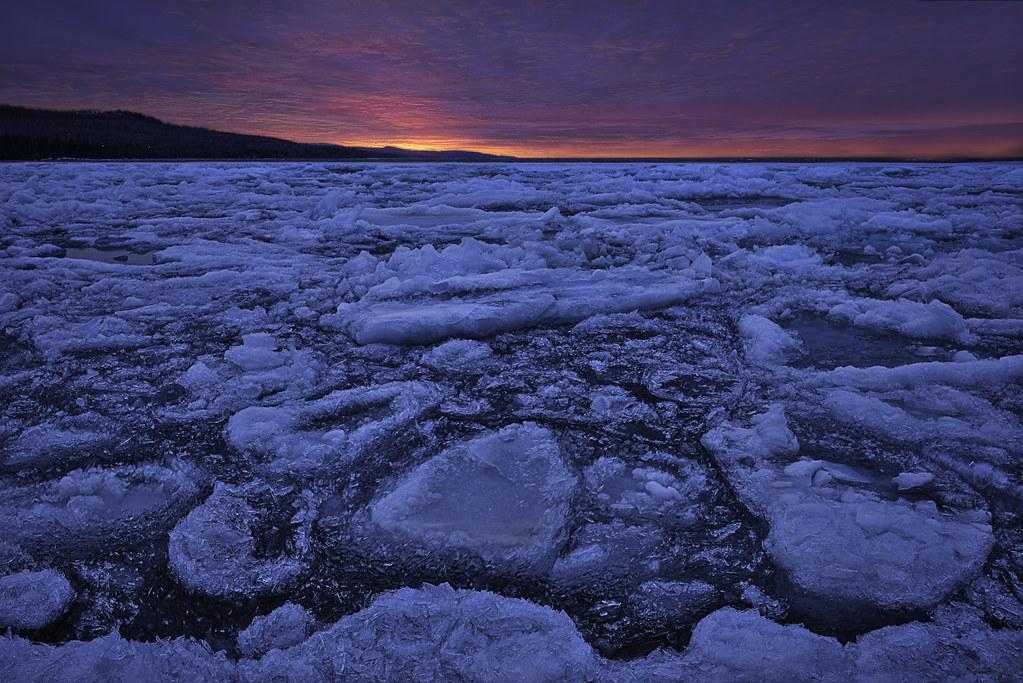 Minnesota Ice Frozen Lake I Went Up North To Minnesota S