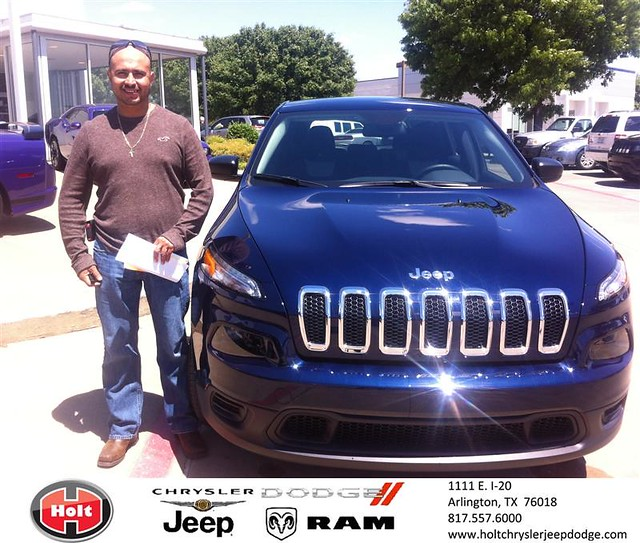 Chrysler Dealership Arlington Tx: Congratulations To Havit Quero On Your #Jeep #Cherokee