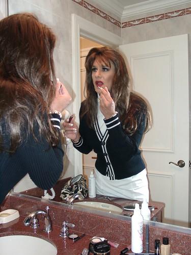 Blk  Wht Sweater  Skirt 6  Michelle Monroe  Flickr-7700