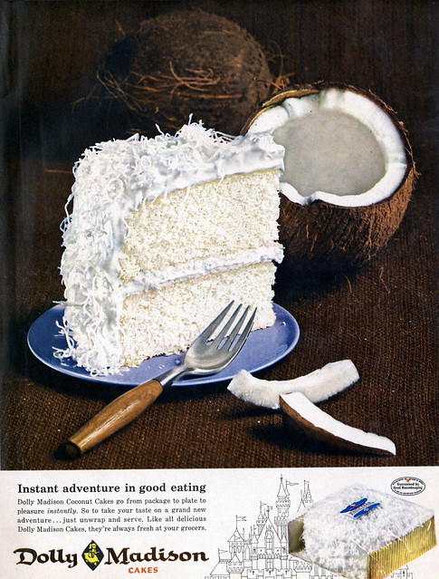 Dolly Madison Coconut Cake Recipe