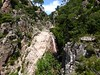 Le canyon au-dessus de la première C20 jusqu'au seuil rocheux