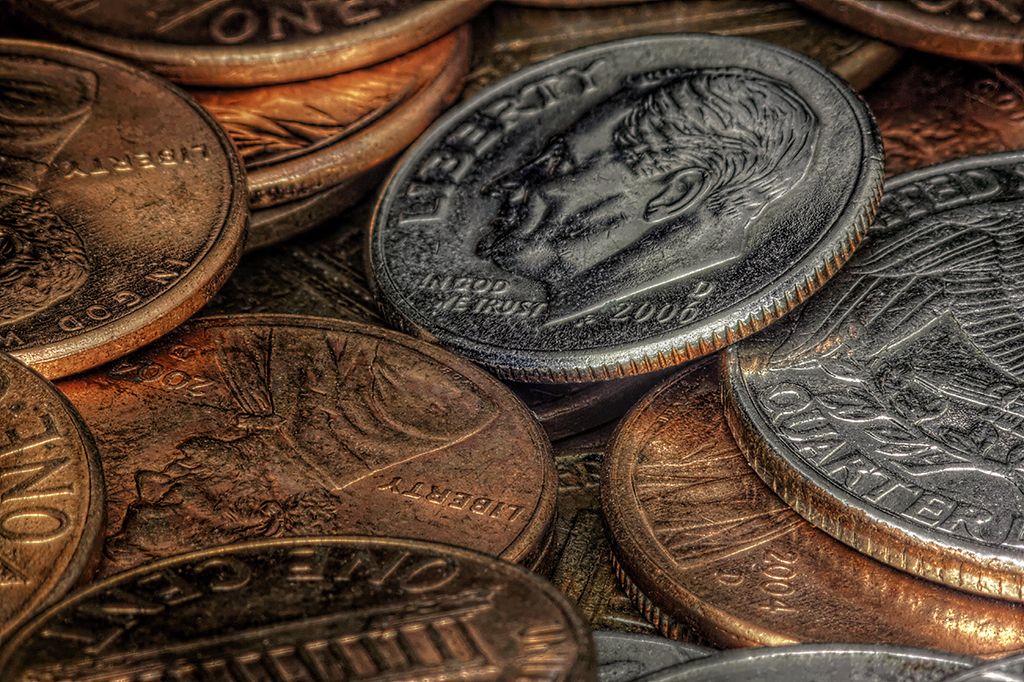 Coins by Tim Clarke