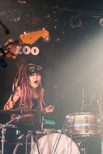 Coal Tar Moon live at Zher the Zoo, Tokyo, 21 Mar 2017 -00135
