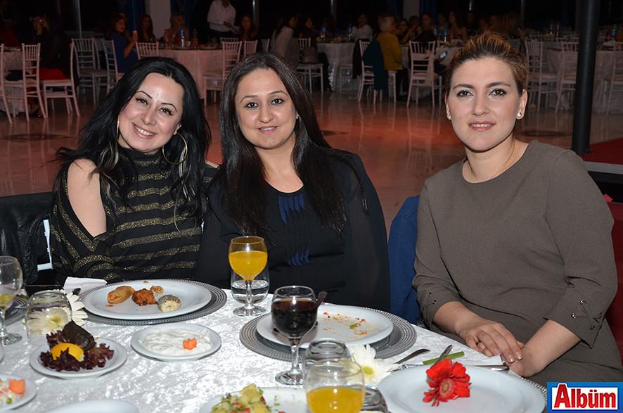 Sinem Coşkun,  Ayşegül Yalçıner, İlknur Akkuş