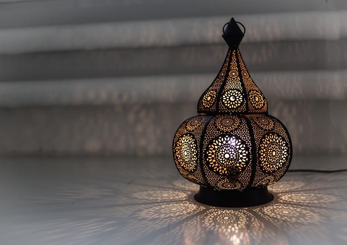 itämainen lamppu tunnelmallinen valo tunnelma_