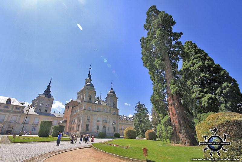 Real Colegiata de la Santísima Trinidad. Palacio de la Granja de San Ildefonso. Segovia, Castilla y León. España.