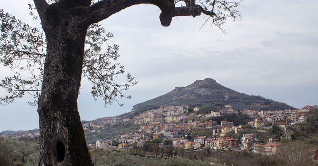 Panorama di Montecorvino Rovella
