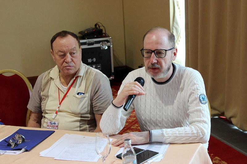 Заседание 2-го дня: Андрей Авдонин, Мир Новостей, Союз издателей НАИ