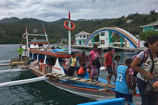 Sibale island - Disembark