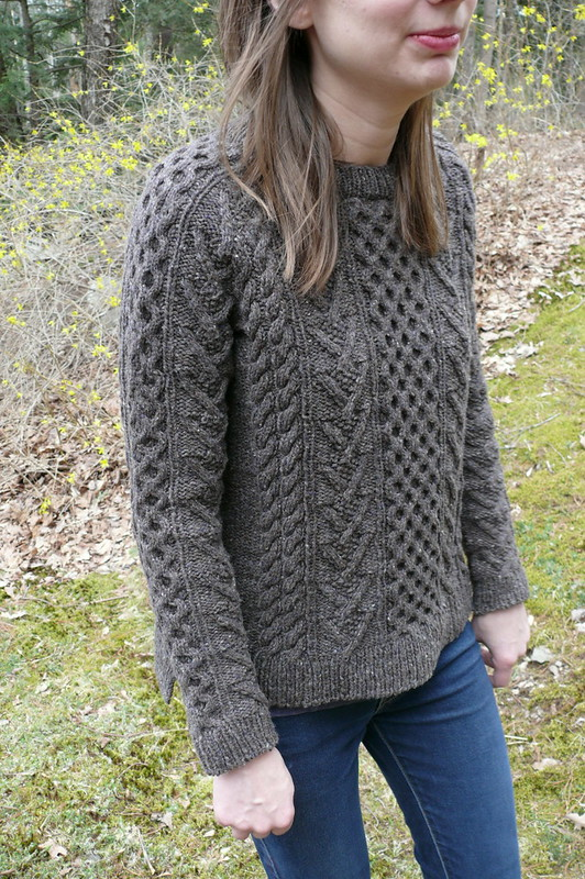 Brooklyn Tweed Bronwyn Pullover | Ginger Makes