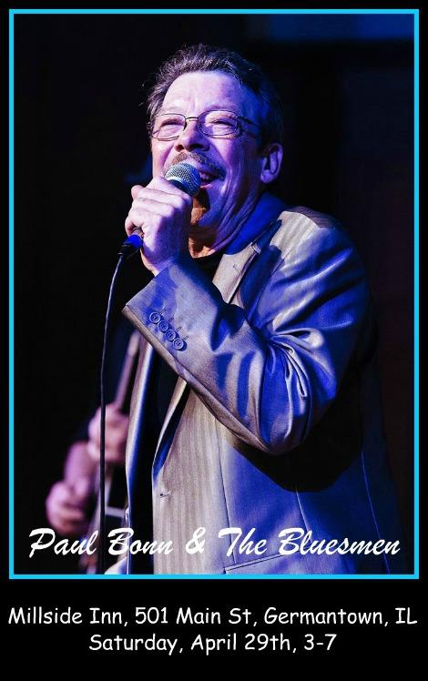 Paul Bonn & The Bluesmen 4-29-17
