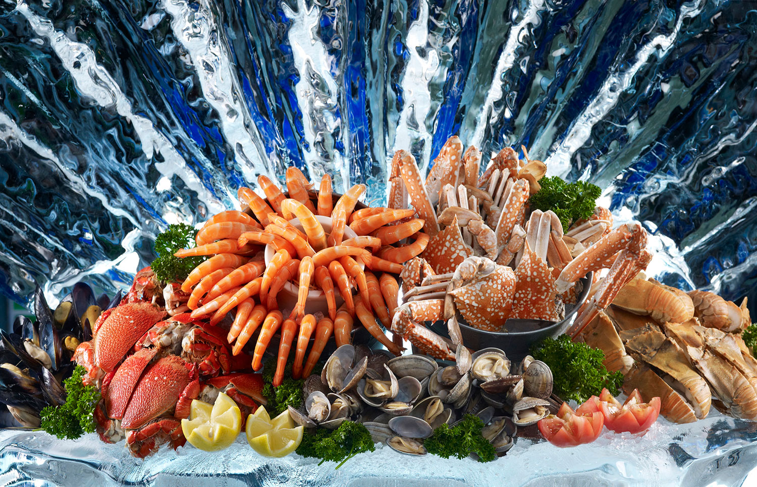 Crowne-Plaza-Changi-Airport---Seafood-Splendour-Buffet---Seafood-on-ice-(2)