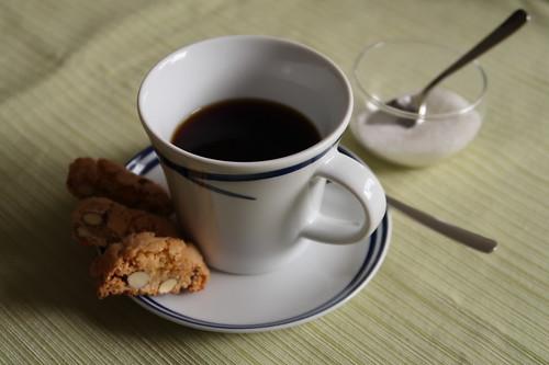 Cantuccini zum Nachmittagskaffee