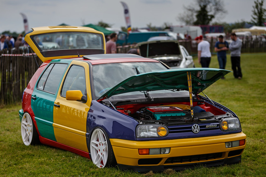 vw golf vr harlequin volkswagen golf mk vr harlequin se flickr