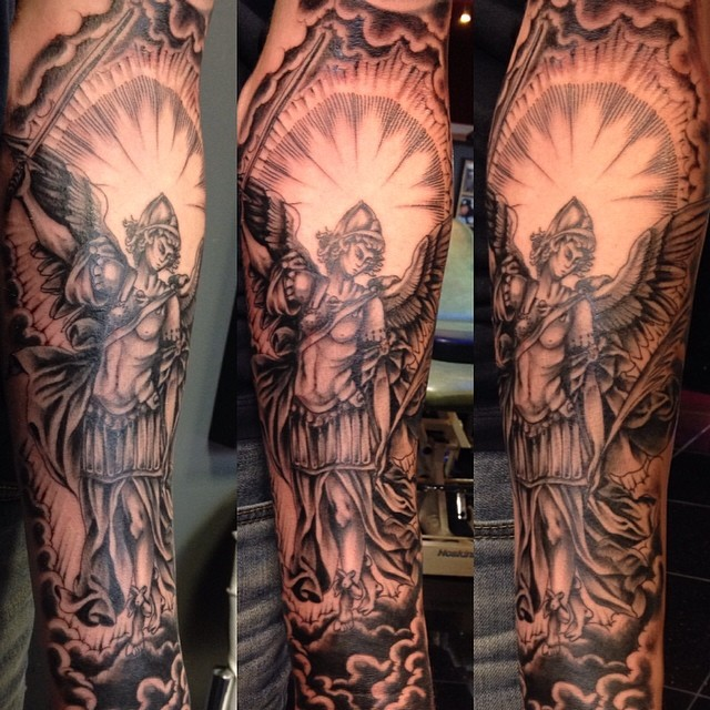 start or a half sleeve, forearm piece from today. thanks f… | Flickr