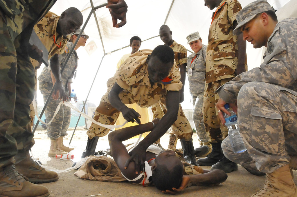 u s african physicians conduct training in chad u s arm flickr