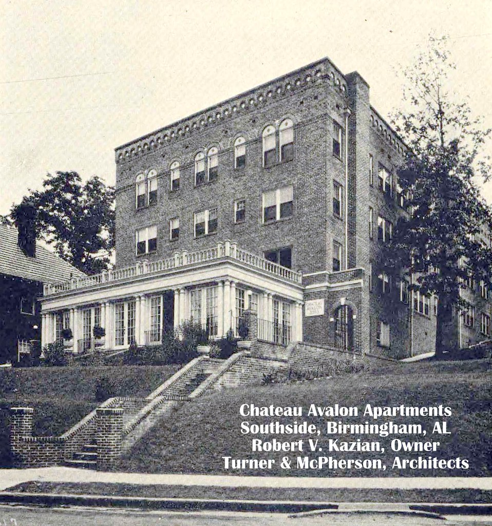 Apartments In Birmingham: Chateau Avalon Apts. Southside, Birmingham, Alabama