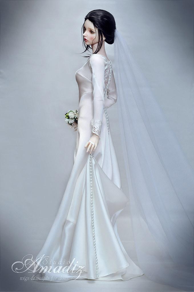 Enchanting Swan Wedding Dress Component - Wedding Dresses & Bridal ...