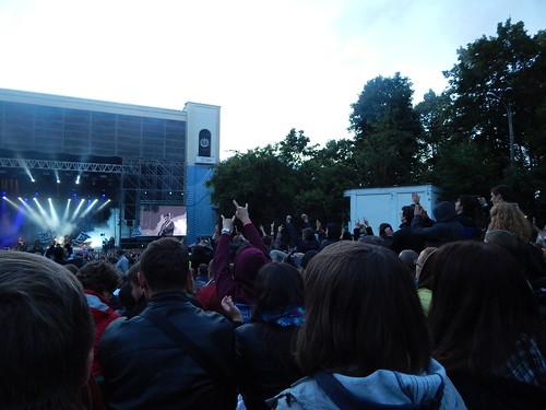 народ на концерте