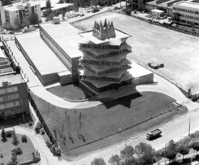 La Pagoda. Miguel Fisac, 1965