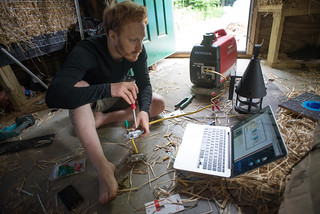 Tyler Learning to Wire a Three-Way Switch | by goingslowly