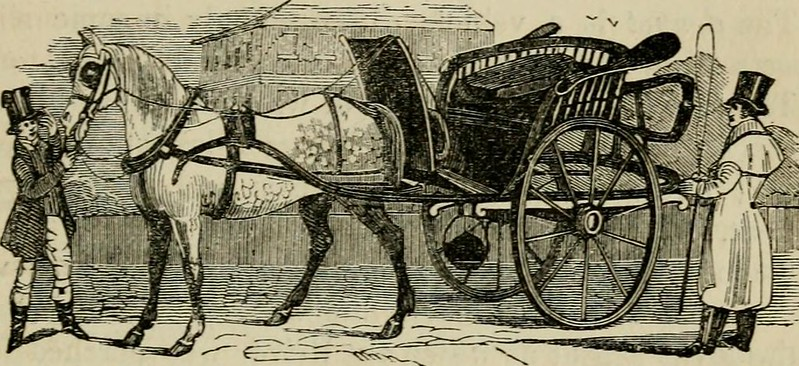 """Image from page 260 of """"The roads and railroads, vehicles, and modes of travelling, of ancient and modern countries; with accounts of bridges, tunnels, and canals, in various parts of the world .."""" (1839)"""