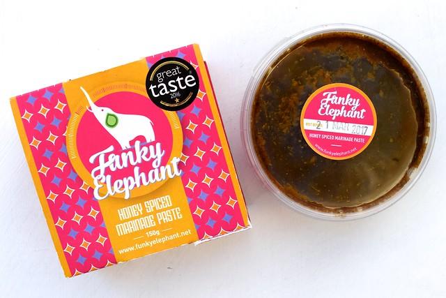 Funky Elephant Honey Spice Marinade | www.rachelphipps.com @rachelphipps