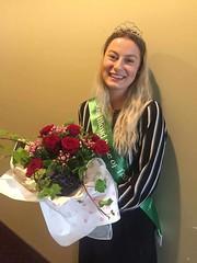 Brooke Thompson, representing the Southland Irish Society.