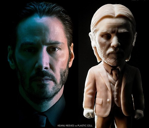 Keanu Reeves vs Plastic Cell