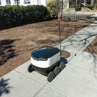 food delivery robot | by paul.wasneski
