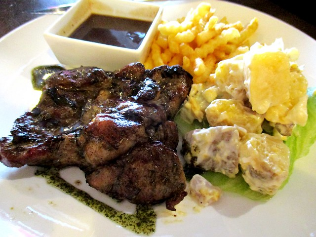 Bistecca & Bistro char-grilled boneless lamb chop