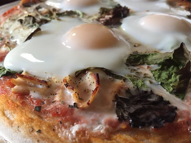 "Easter ""egg"" pizza"
