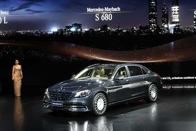 M benz s class channel auto for Mercedes benz s680