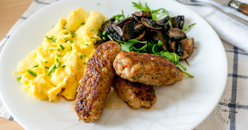 Homemade Freeform Pork Sausages