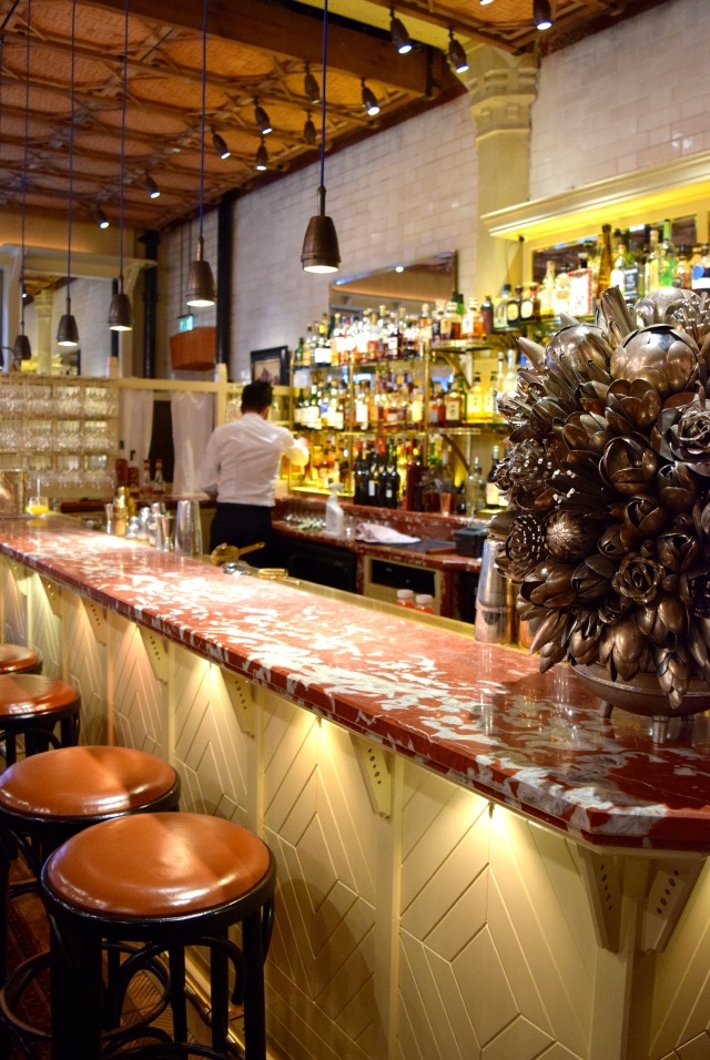 Bar at The Chiltern Firehouse, Marylebone | www.rachelphipps.com @rachelphipps