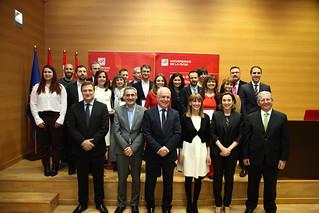 Acto de entrega de los IX Premios del Consejo Social