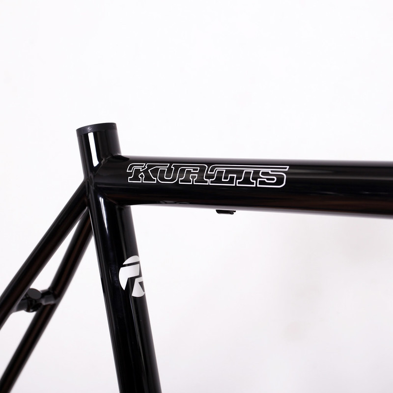 Kualiscycles Steel Frame & ENVE Carbon Fork Painted by Swamp Things
