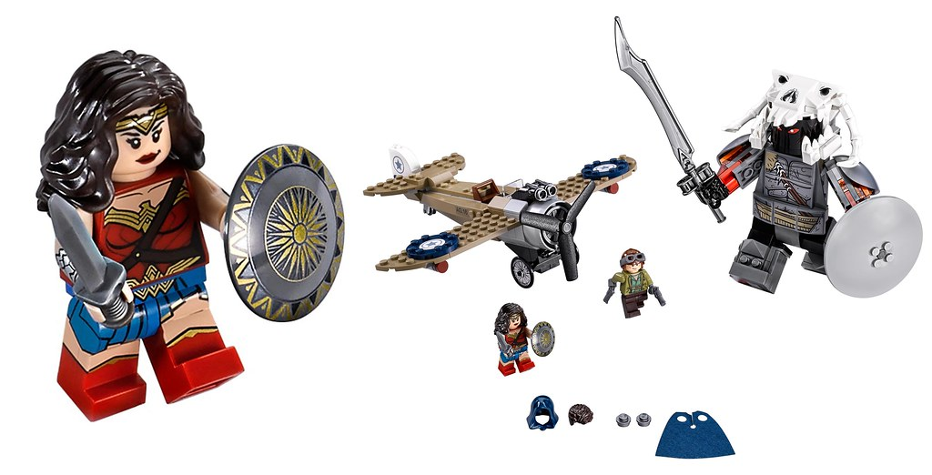 LEGO DC Super Heroes 76075 - Wonder Woman Warrior Battle