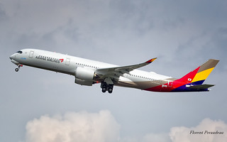 F-WZNY // HL8078 Asiana Airlines Airbus A350-900 - cn 094