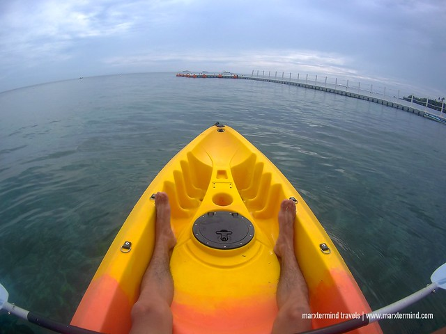 Kayaking at BE Grand Resort Bohol