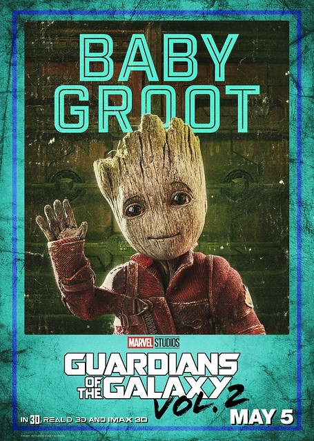 Guardians of the Galaxy Vol 2 (2017) poster Baby Groot
