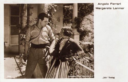 Angelo Ferrari and Margarete Lanner in In Treue stark (1926)