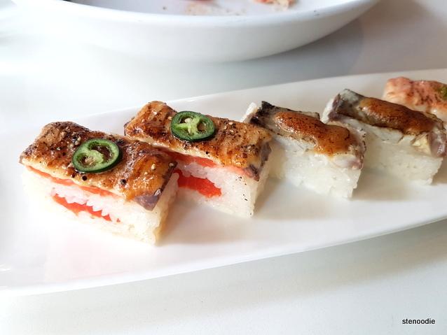 Miku Toronto Aburi Oshi Sushi